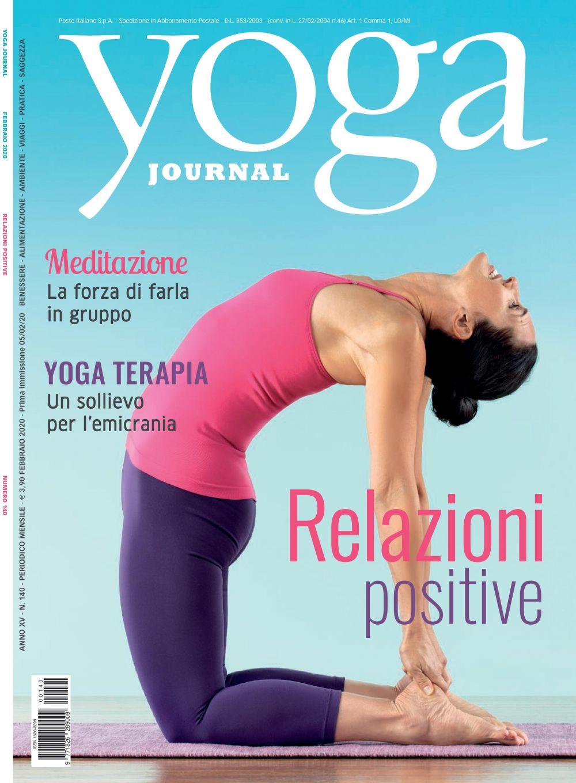 Yoga Journal Febbraio n. 140