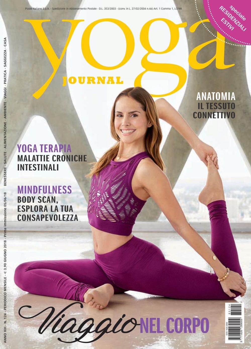 Yoga Journal Giugno n. 124
