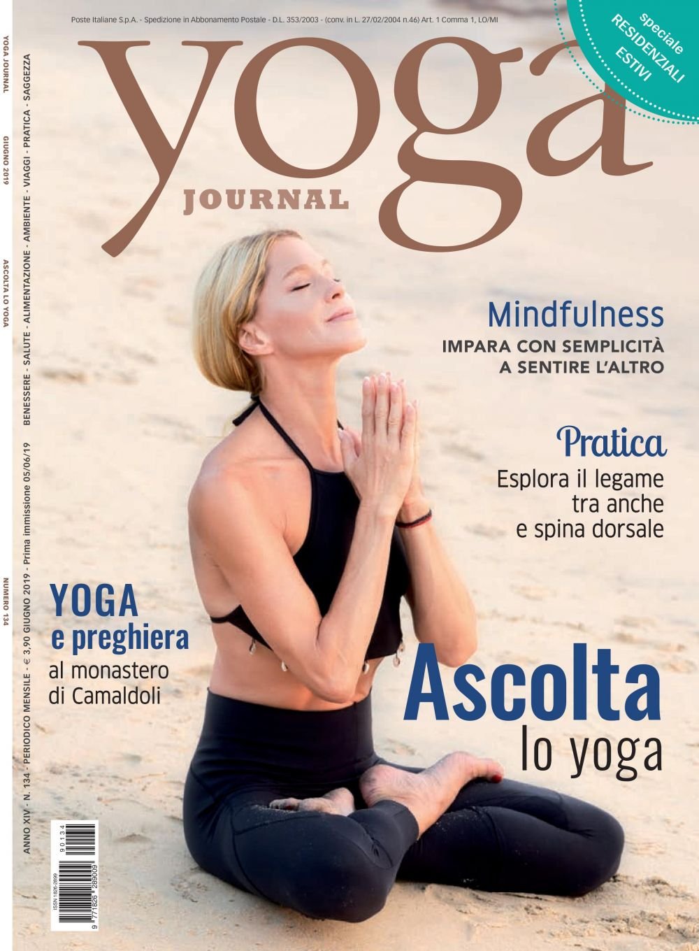 Yoga Journal Giugno n. 134