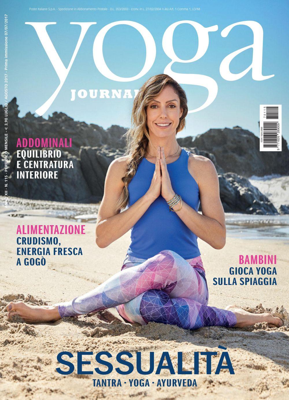 Yoga Journal Luglio-Agosto n. 115