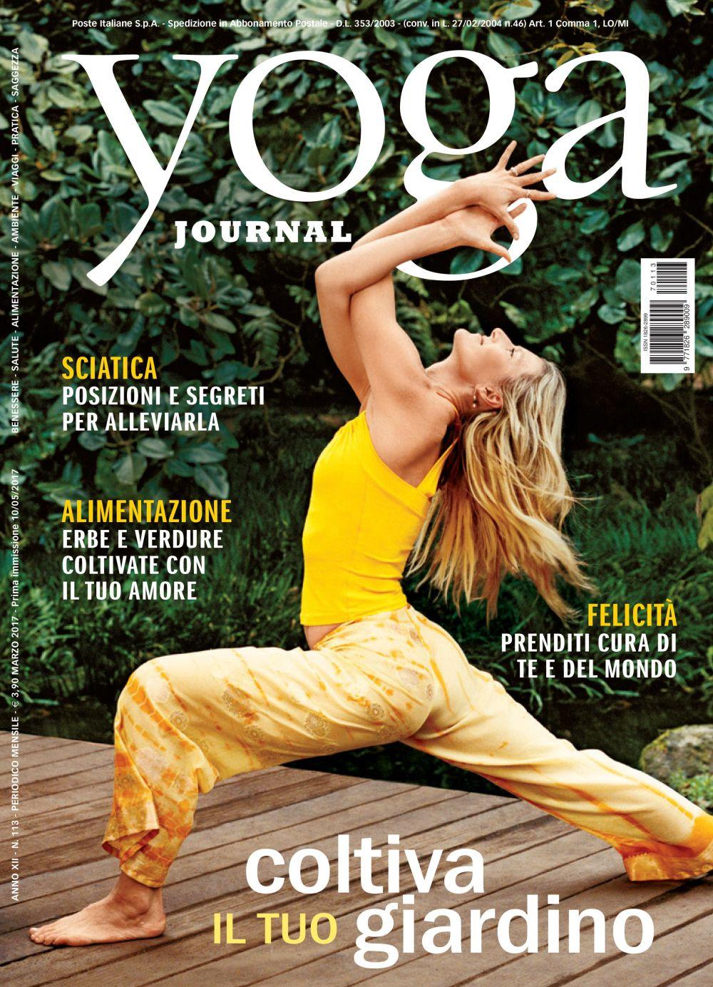 Yoga Journal Maggio n. 113