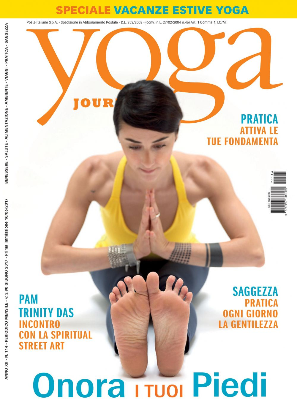 Yoga Journal Giugno n. 114