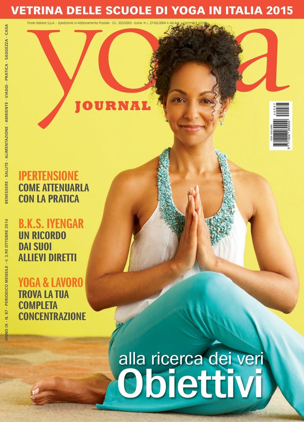 Yoga Journal n. 87
