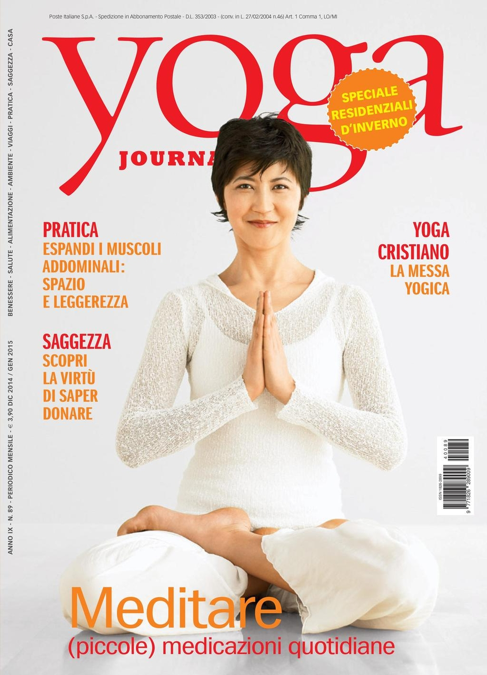 Yoga Journal n. 89