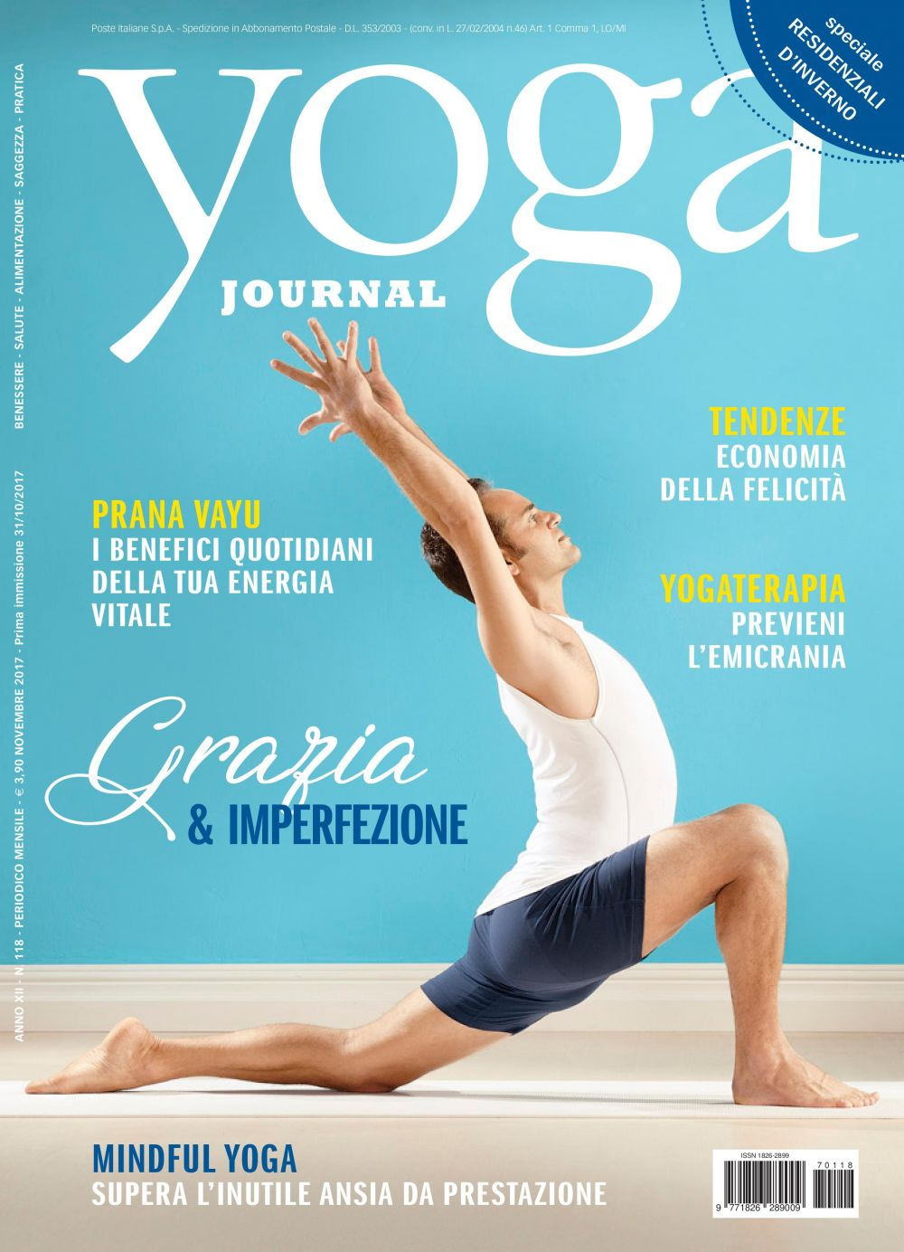 Yoga Journal Novembre n. 118