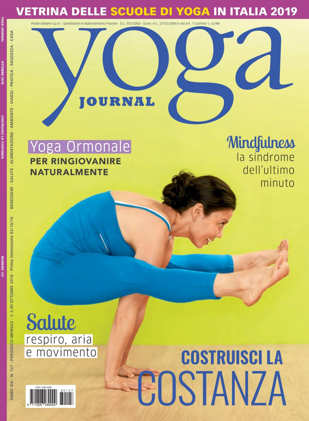 Yoga Journal Ottobre n.127