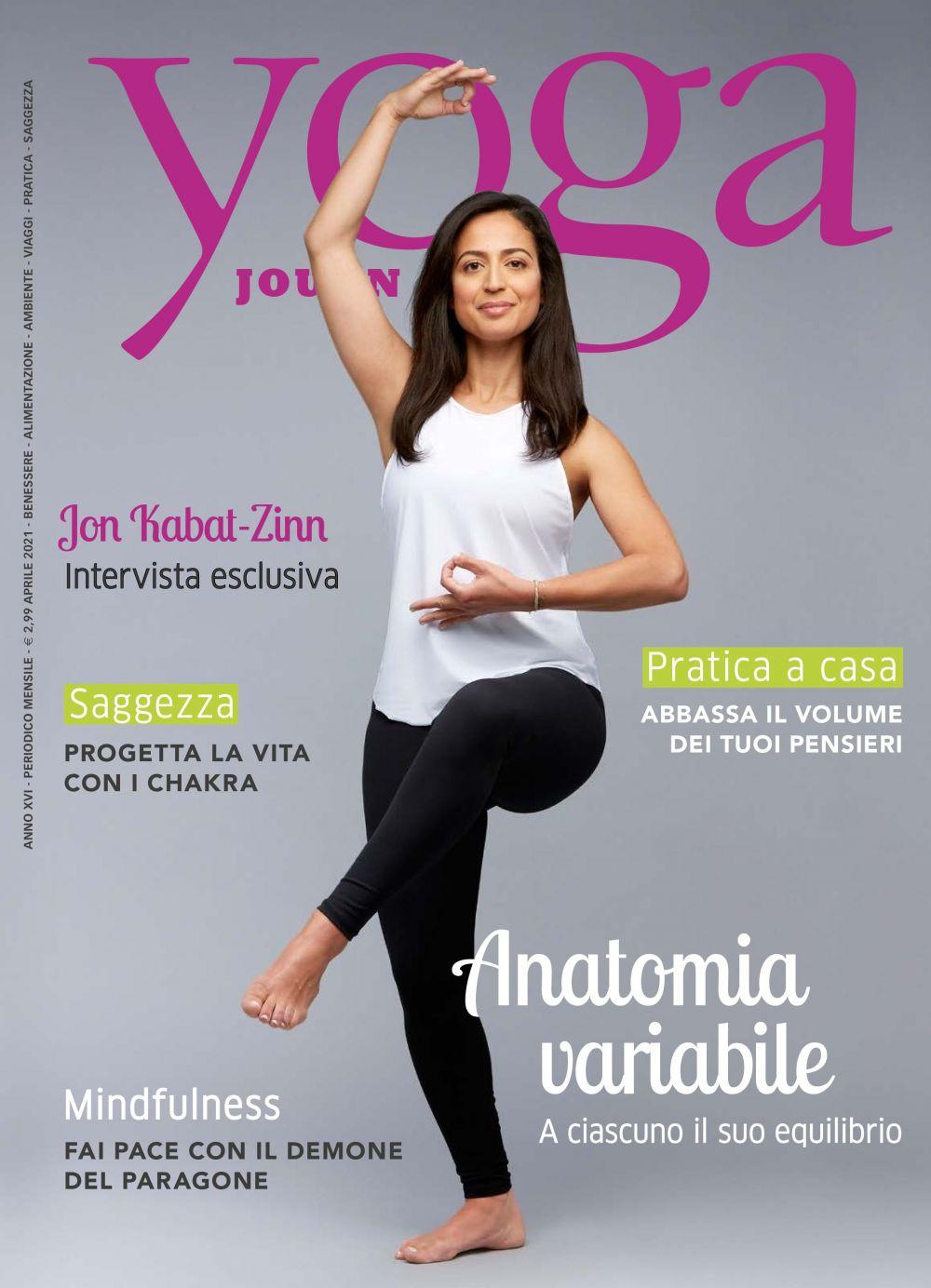 Yoga Journal Aprile