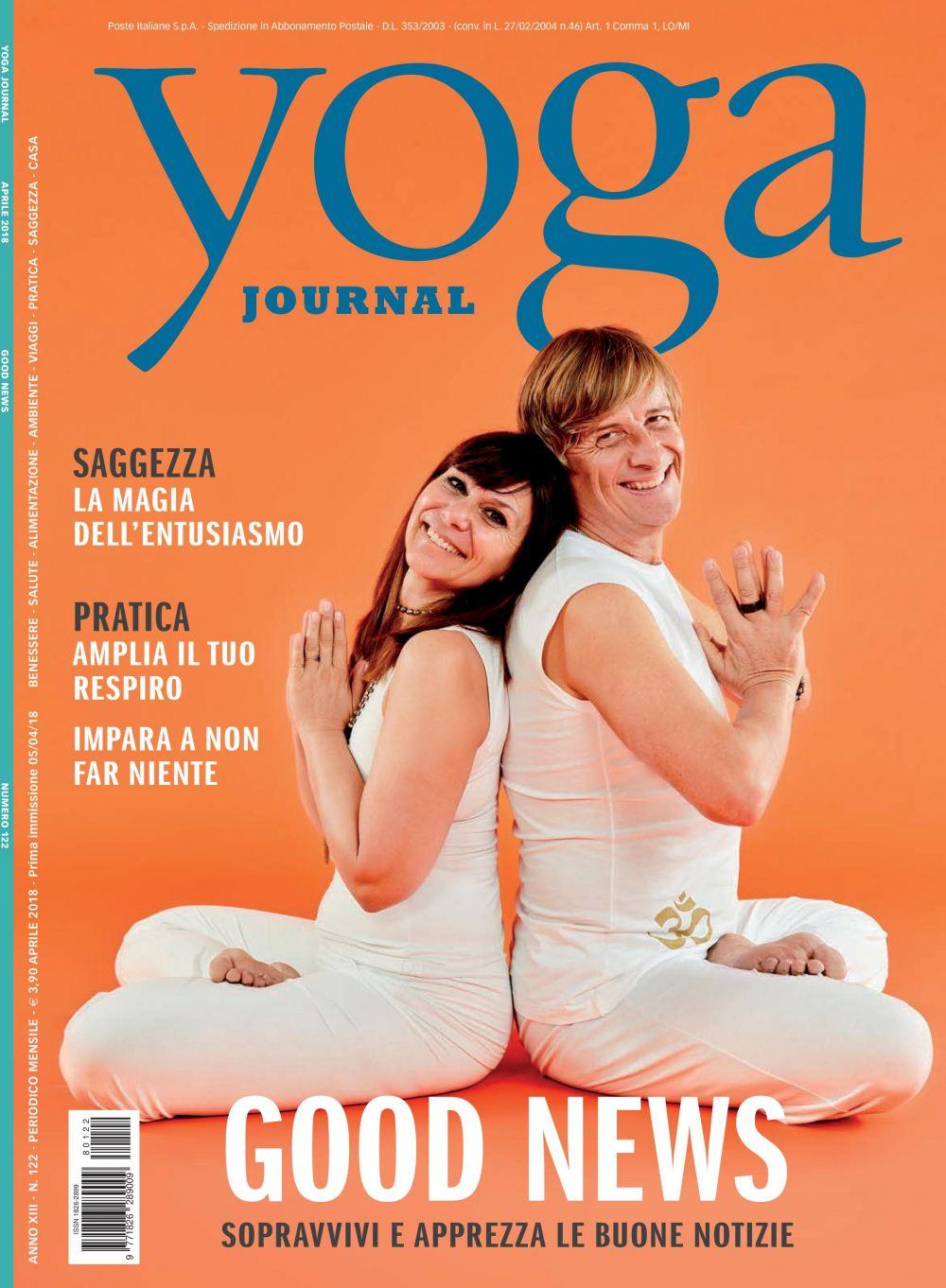 Yoga Journal Aprile n. 122