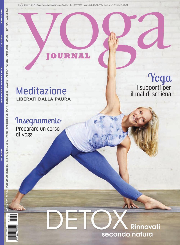 Yoga Journal Aprile n.132
