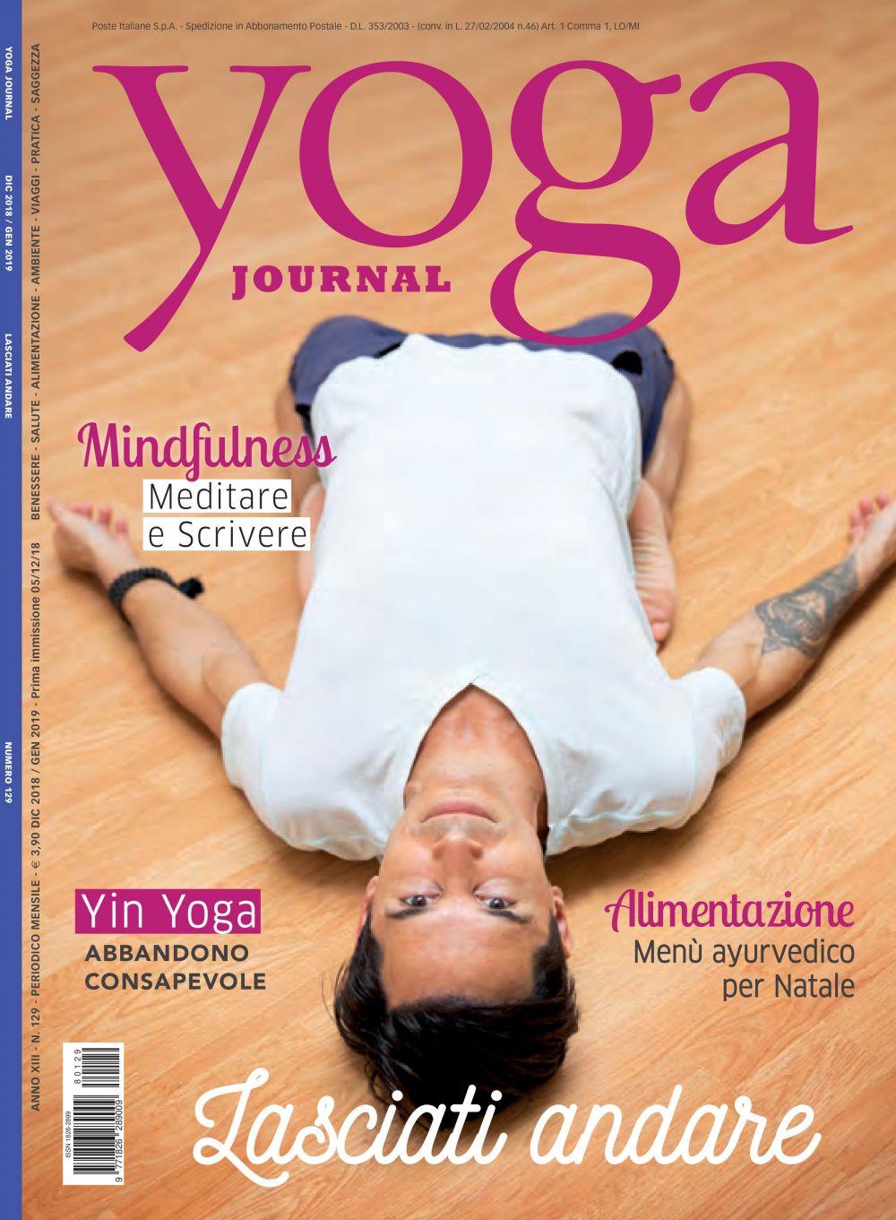 Yoga Journal Dicembre-Gennaio n.129