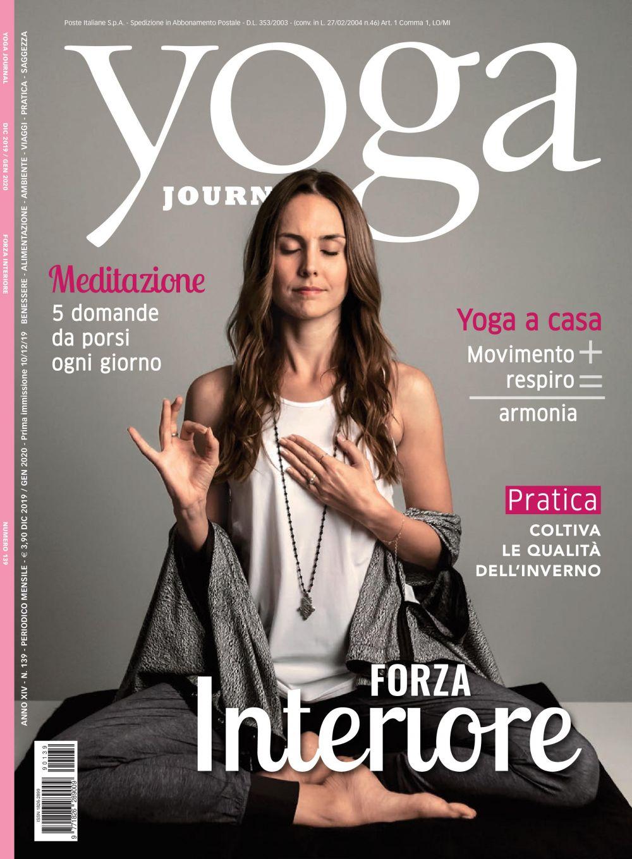 Yoga Journal Dicembre/Gennaio n.139