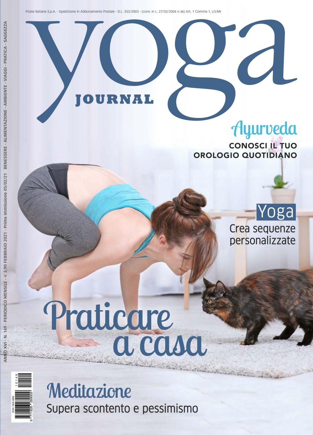 Yoga Journal Febbraio n.149