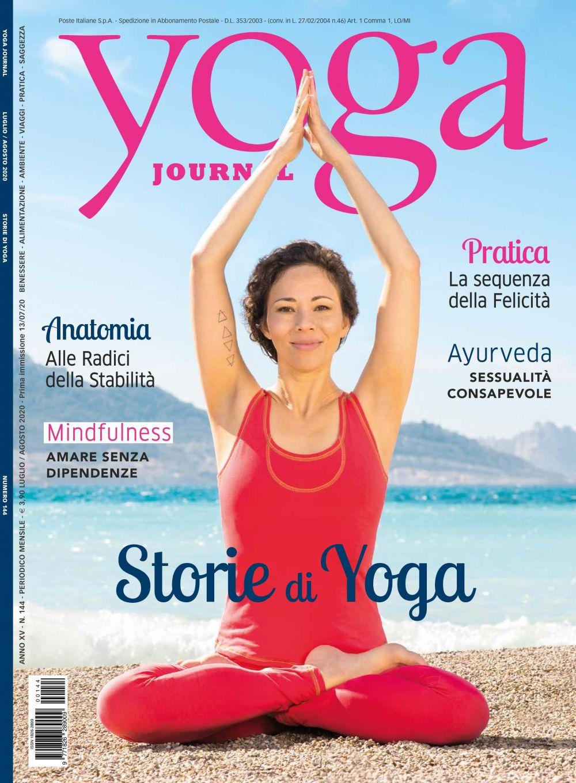 Yoga Journal Luglio/Agosto n.144