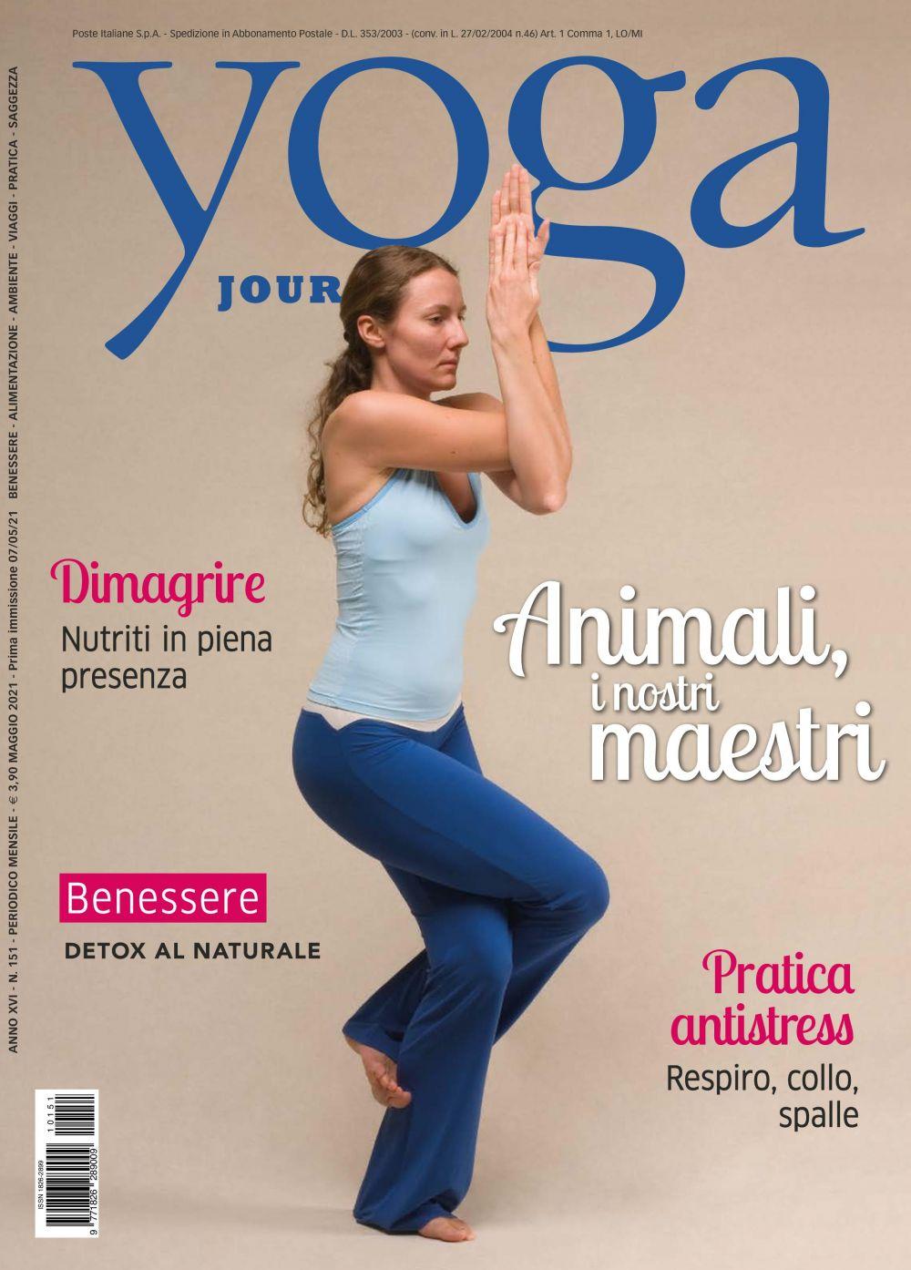 Yoga Journal Maggio n.151