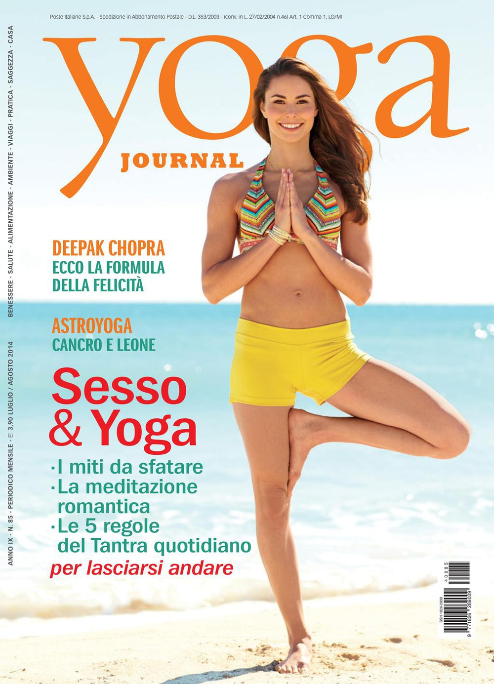 Yoga Journal n. 85
