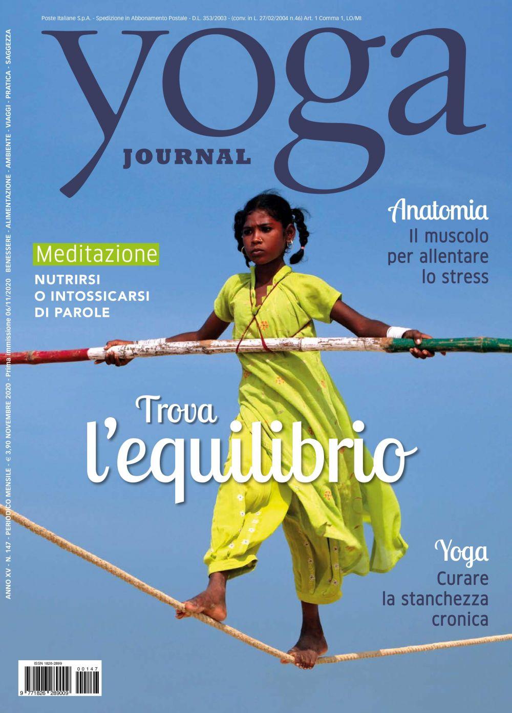 Yoga Journal Novembre n.147