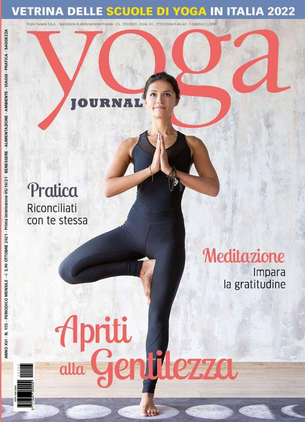 Yoga Journal Ottobre n. 155