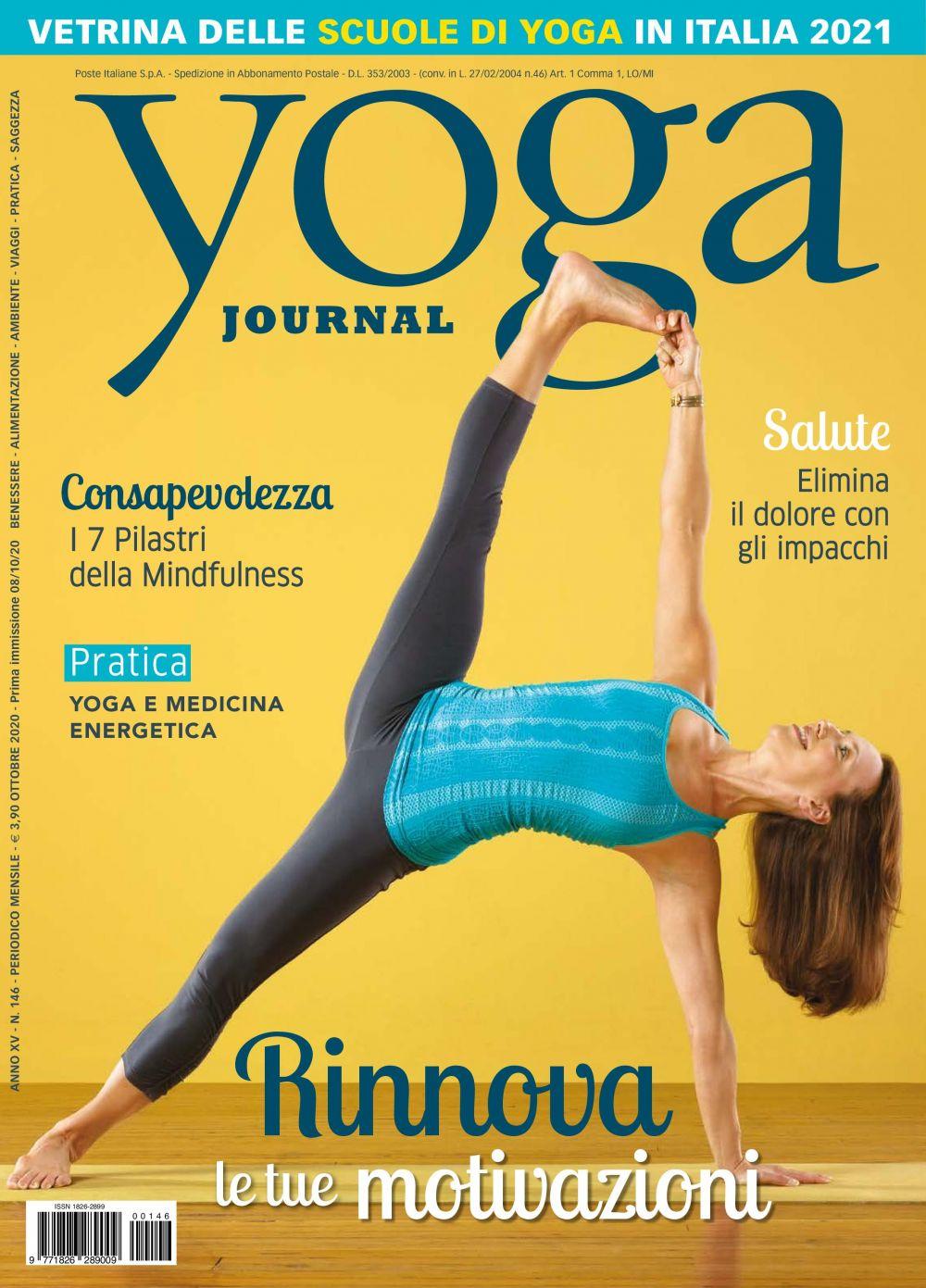 Yoga Journal Ottobre n.146