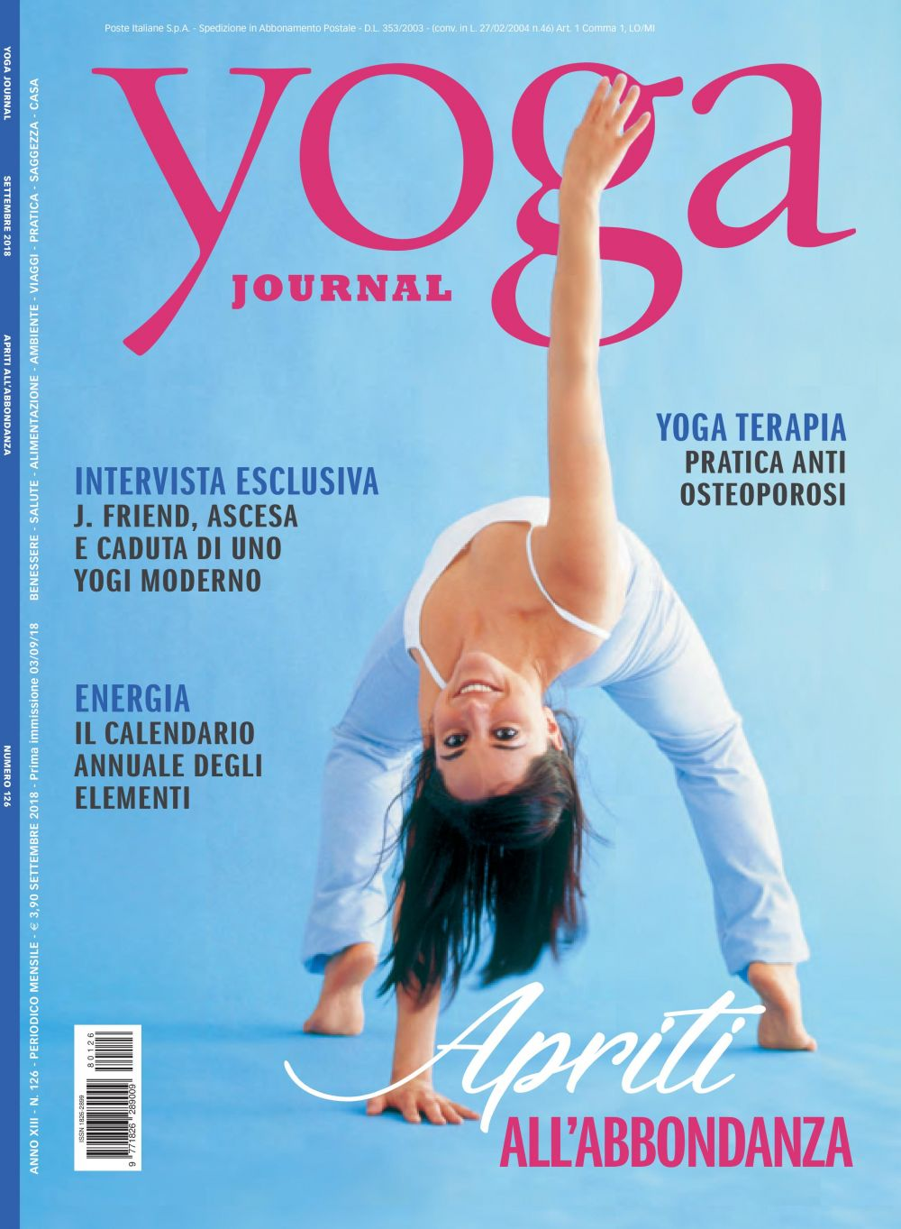 Yoga Journal Settembre n.126