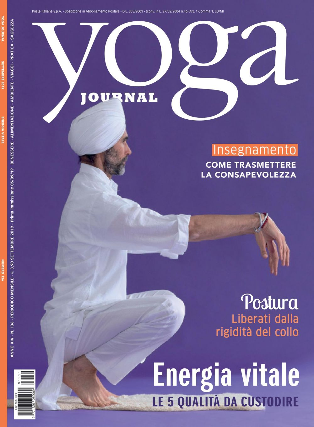 Yoga Journal Settembre n.136