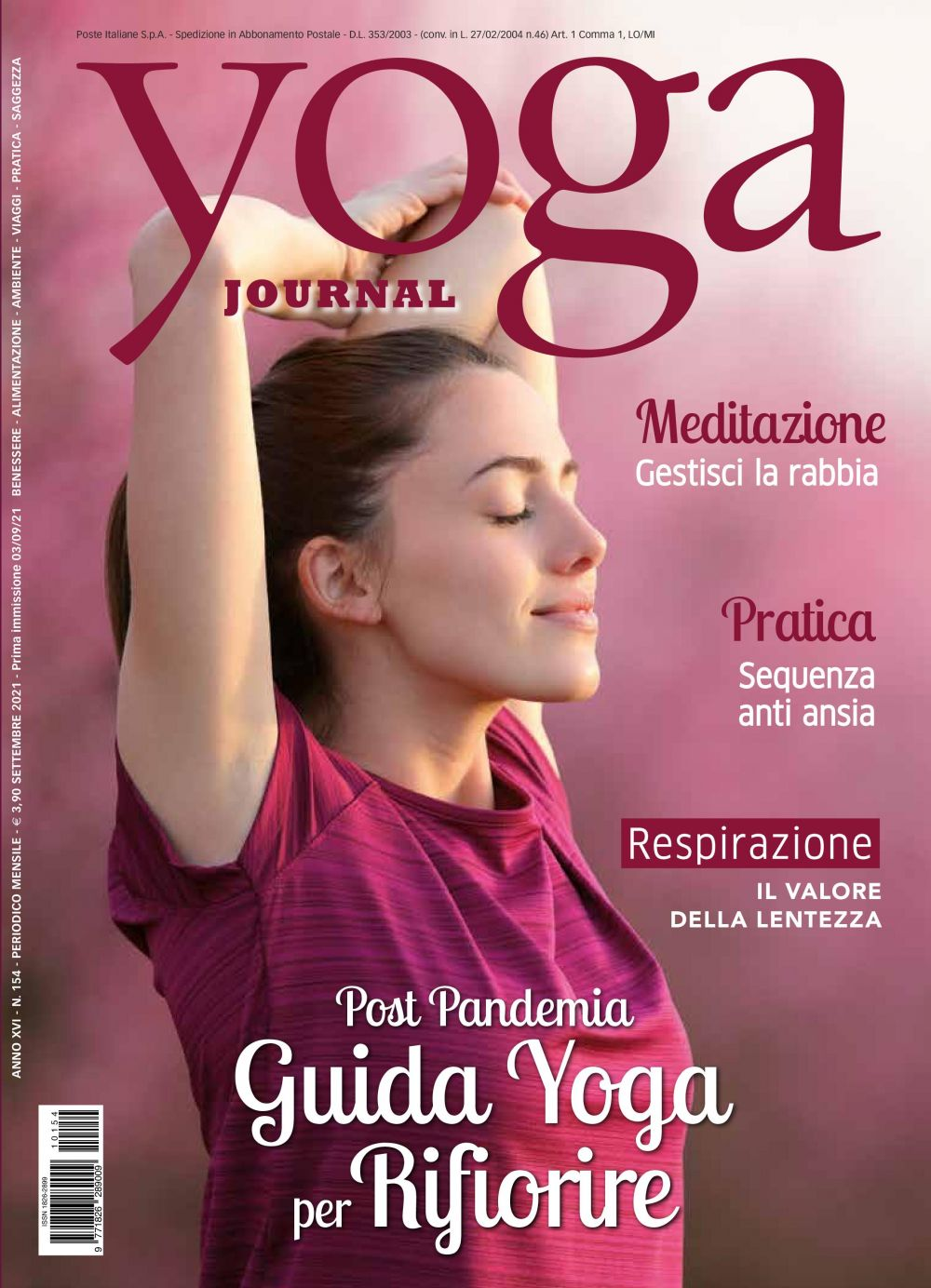 Yoga Journal Settembre N154